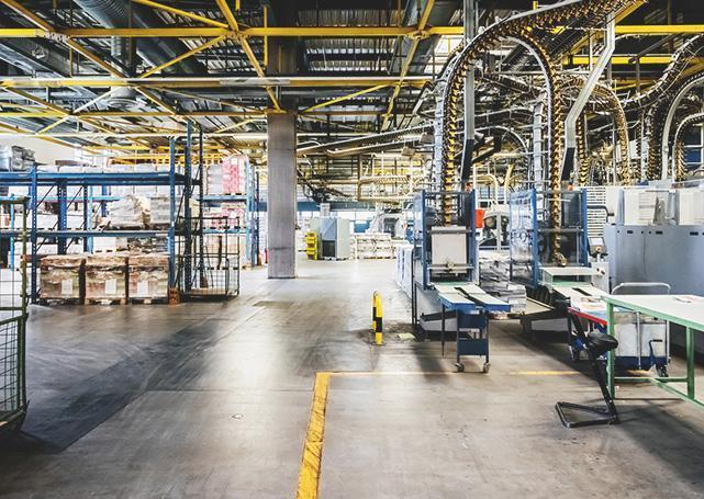 Hala przemysłowa firmy