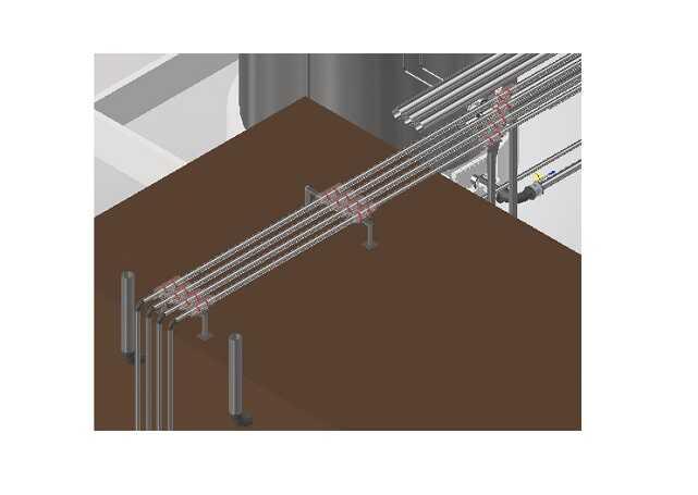 Kompleksowy projekt rurociągów